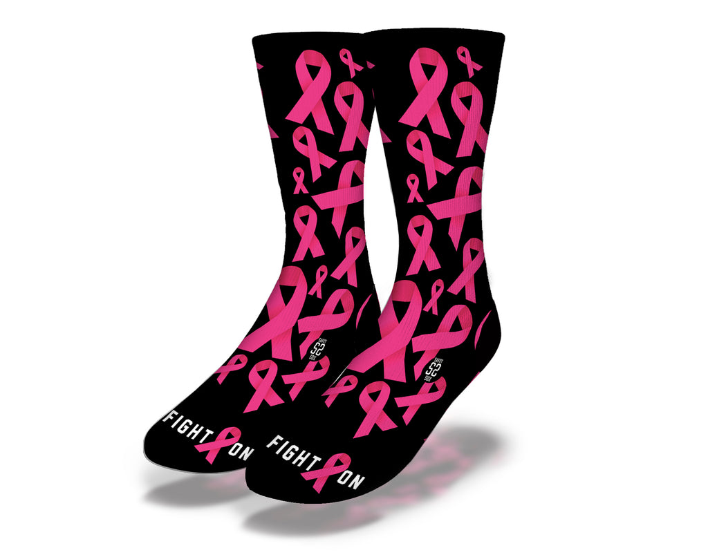 Breast Cancer Awareness 2 Socks