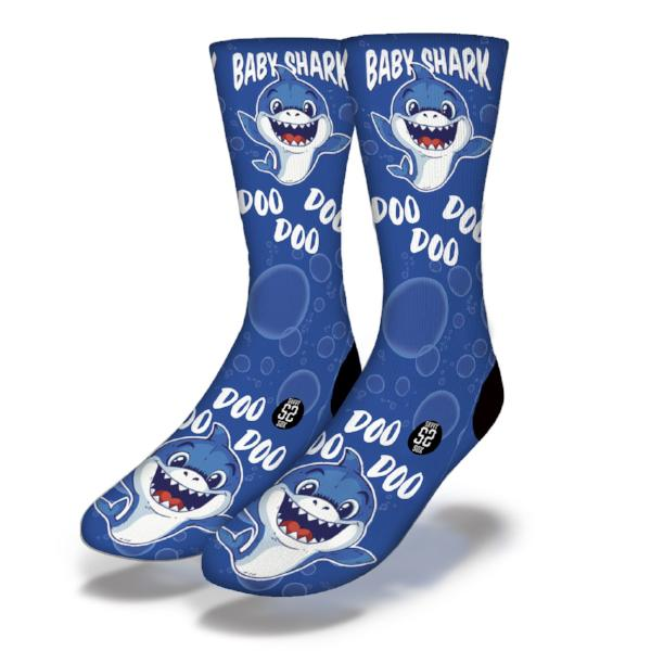 Baby Sharks DO DO DO  1 Socks