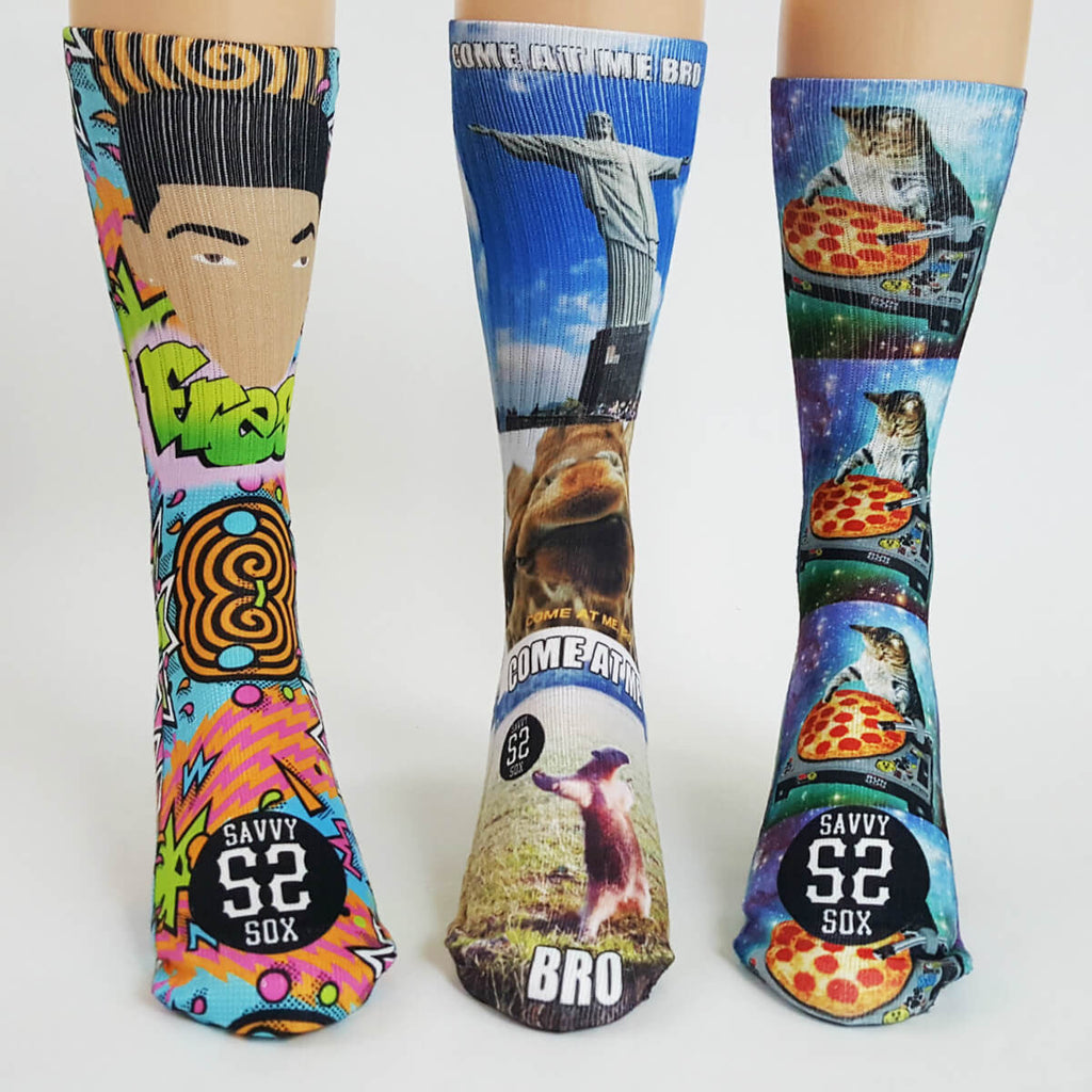 Funny Sox Collection (Sock Club) - SavvySox