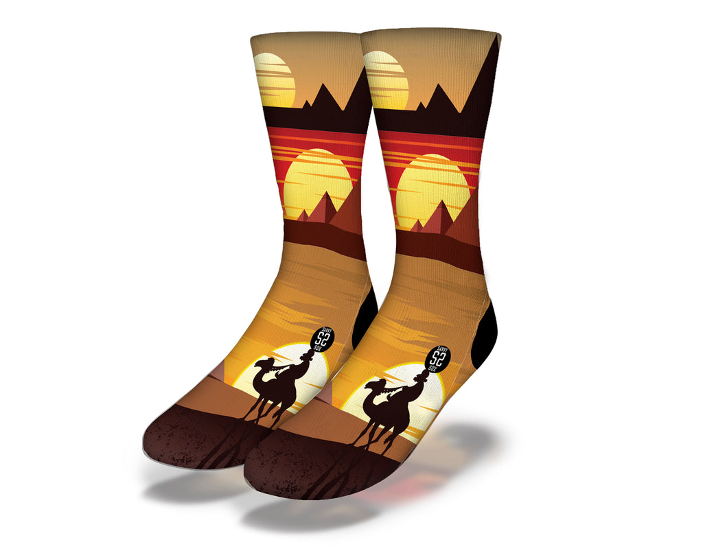 Egyptian Theme 11 Socks