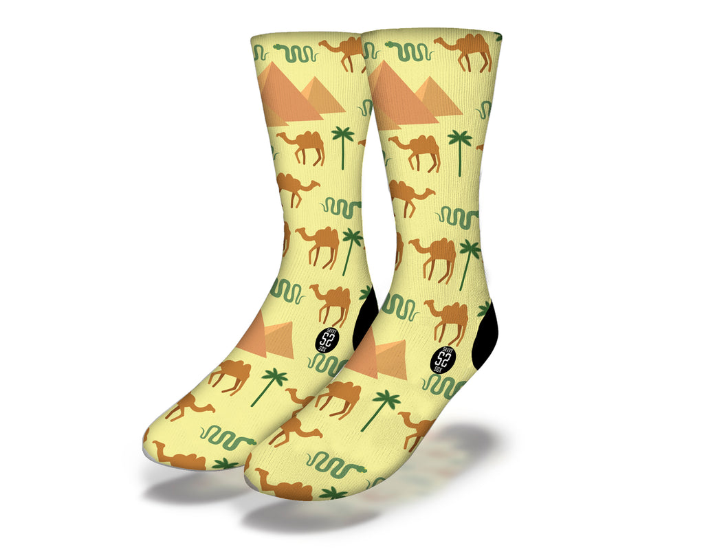 Egyptian Theme 14 Socks