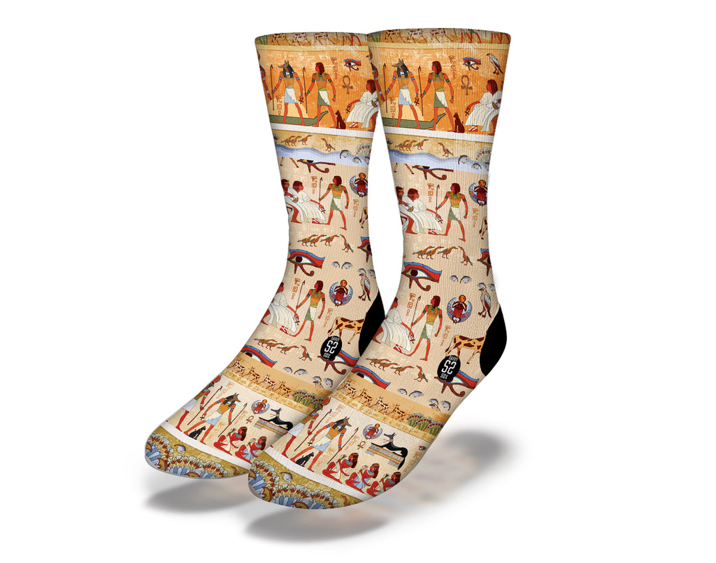 Egyptian Theme 18 Socks