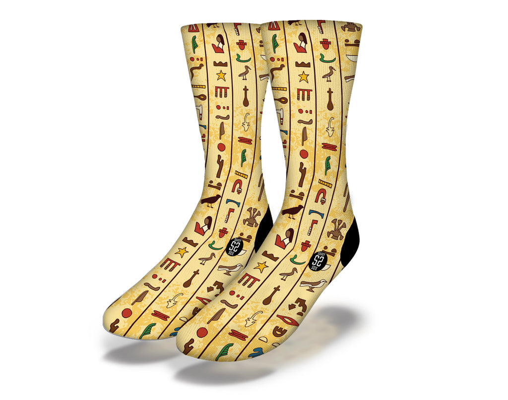 Egyptian Theme 3 Socks