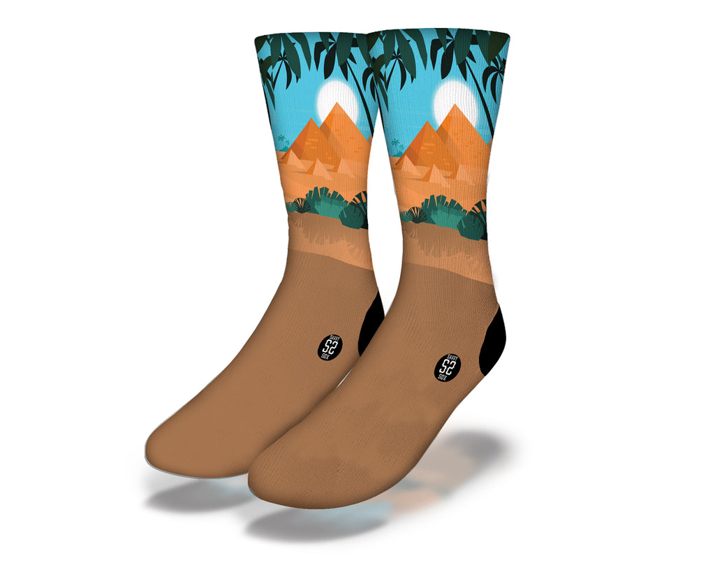 Egyptian Theme 6 Socks