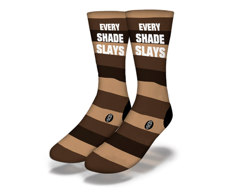 Every Shade Slays Socks