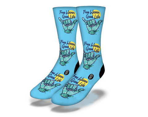 Free Waves Good Life Socks
