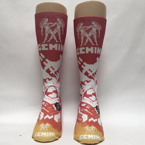 Gemini Zodiac Sign Socks