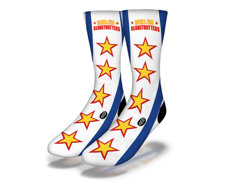 Harlem Globetrotters Stripes Socks