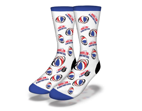 Harlem Globetrotters Ball Socks