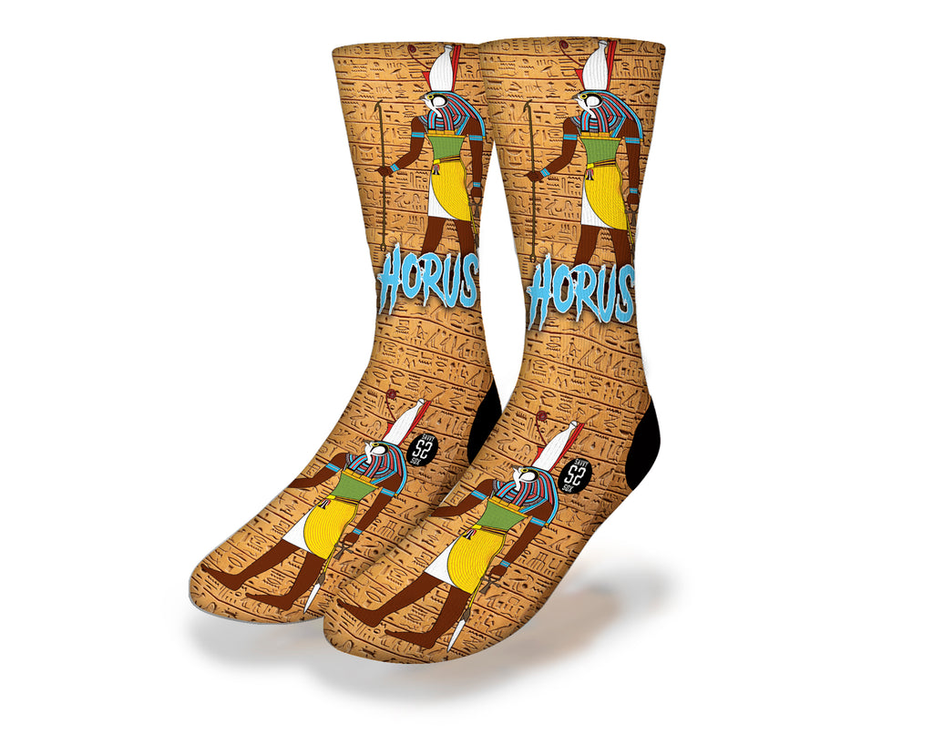 Horus Egyptian God Socks