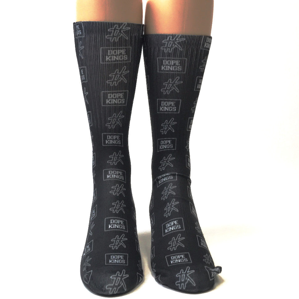 Dope Kings Logo Socks - SavvySox - 1