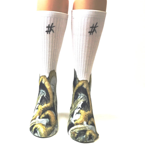 Mushies Dope Kings Socks - SavvySox