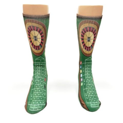 Roulette Casino Game Socks - SavvySox - 2