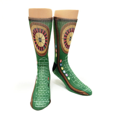 Roulette Casino Game Socks - SavvySox - 1