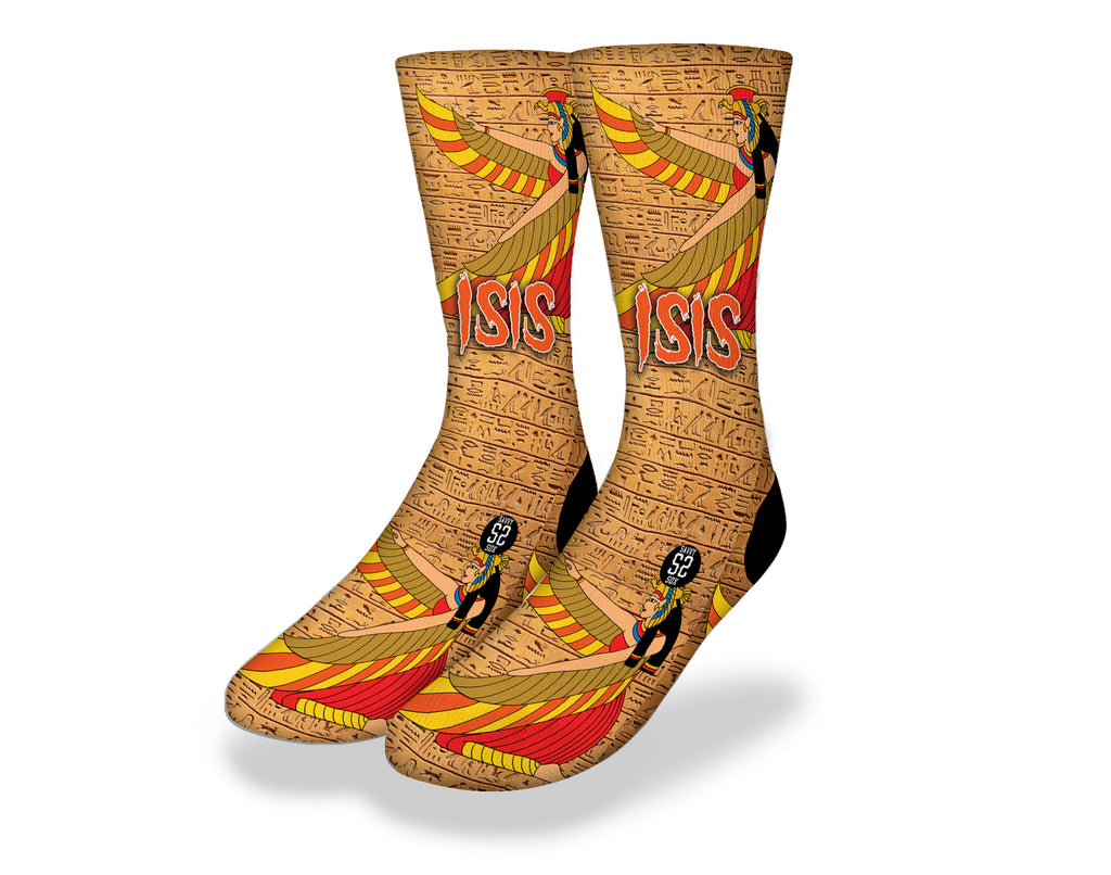 Isis Egyptian God Socks