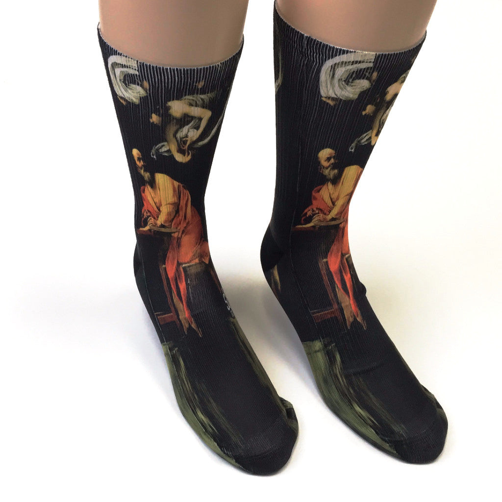 Inspiration Of St. Matthew Socks - SavvySox - 1