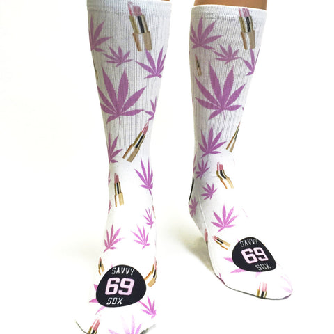 Jenny69 XxX Savvy Sox Official Collab Cannabis - SavvySox - 1