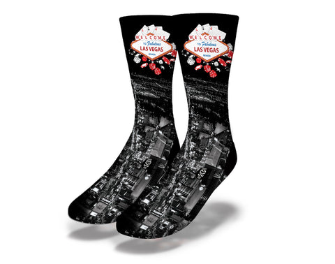 Nightlife Las Vegas Socks