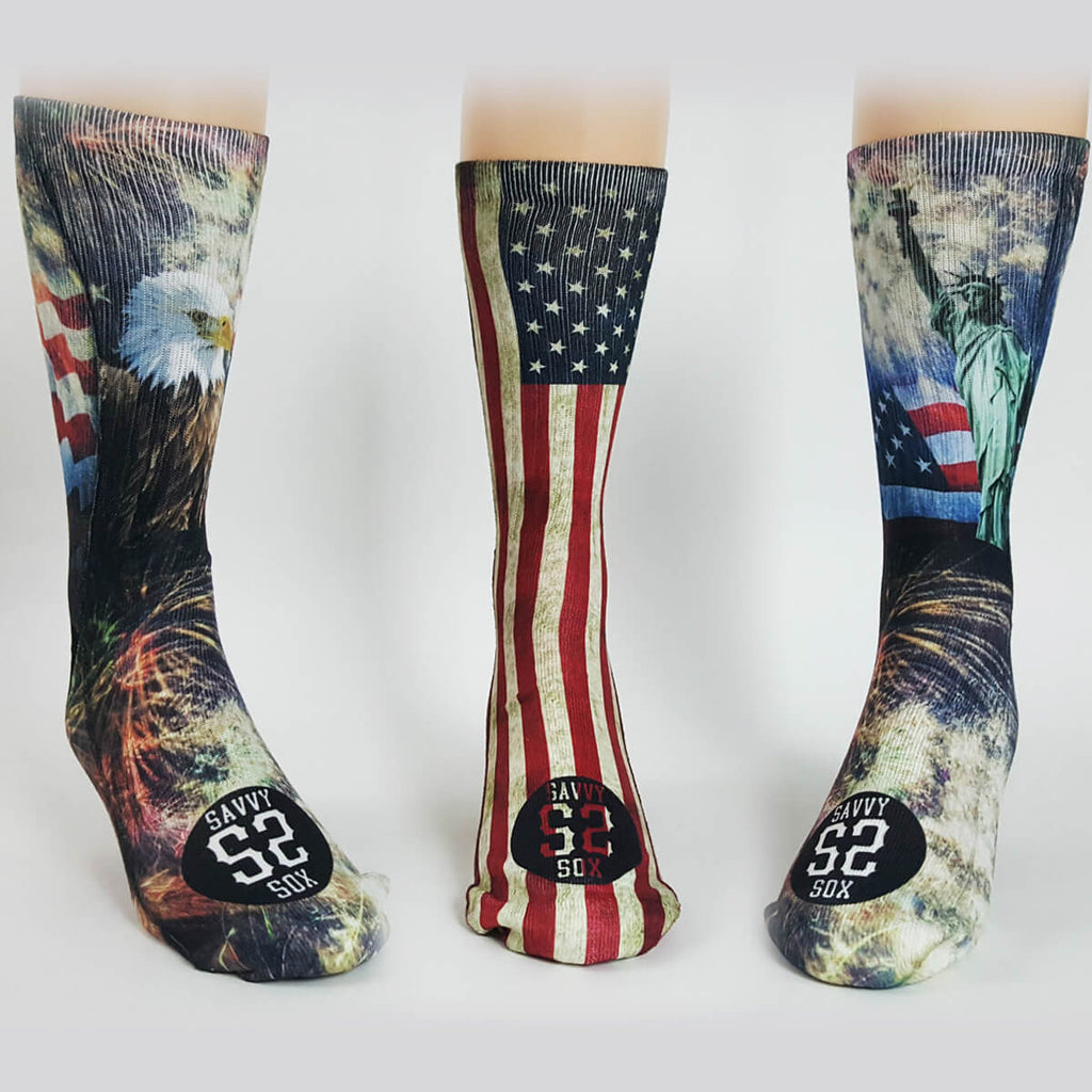 Patriotic (Sock Club) - SavvySox