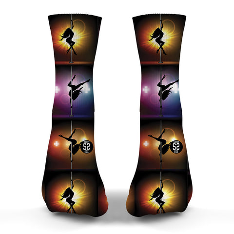 Stripper Pole Dancing Socks