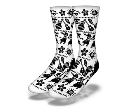 Polynesian Dancer 2 Socks