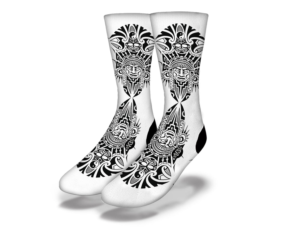 Polynesian Warrior 1 Socks