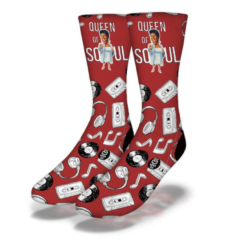 Queen of Soul Socks