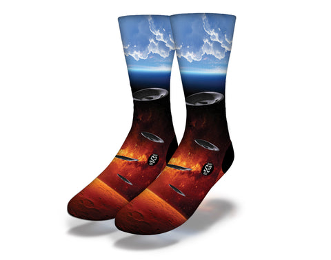 Red Planet Socks