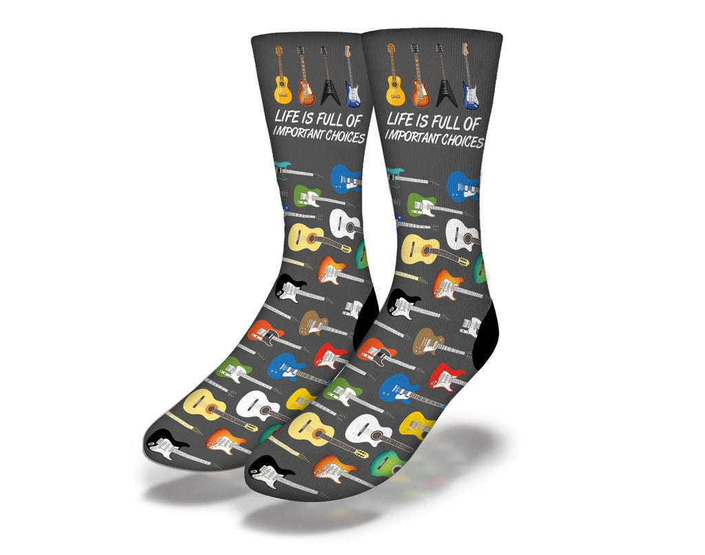 Important Choices Guitar Socks