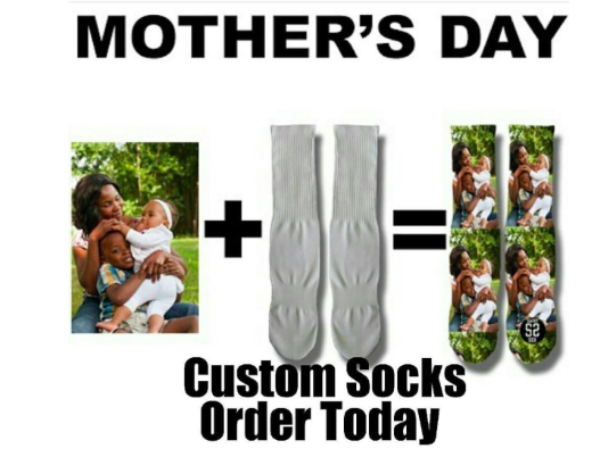 Custom Mother's Day Socks
