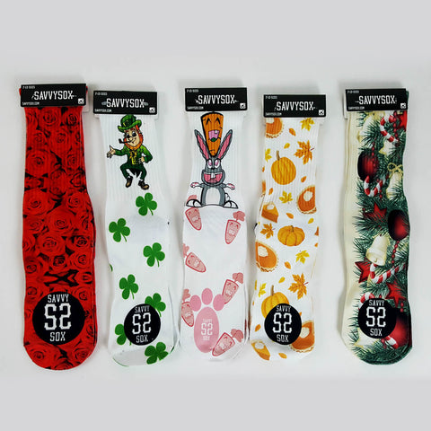 Holiday Sox (Bundle) - SavvySox
