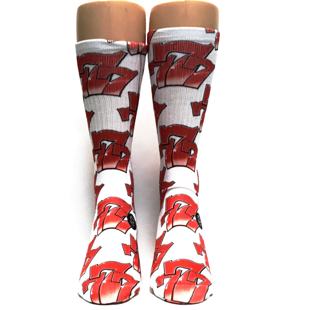 Triple 7 Jackpot Socks