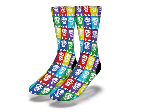 Donald Trump Pattern Colorful Socks