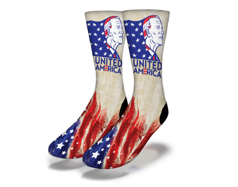United America President Joe Biden Socks