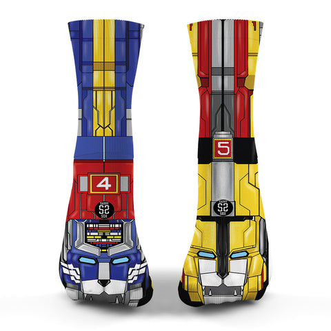 Voltron Legendary Defender Socks