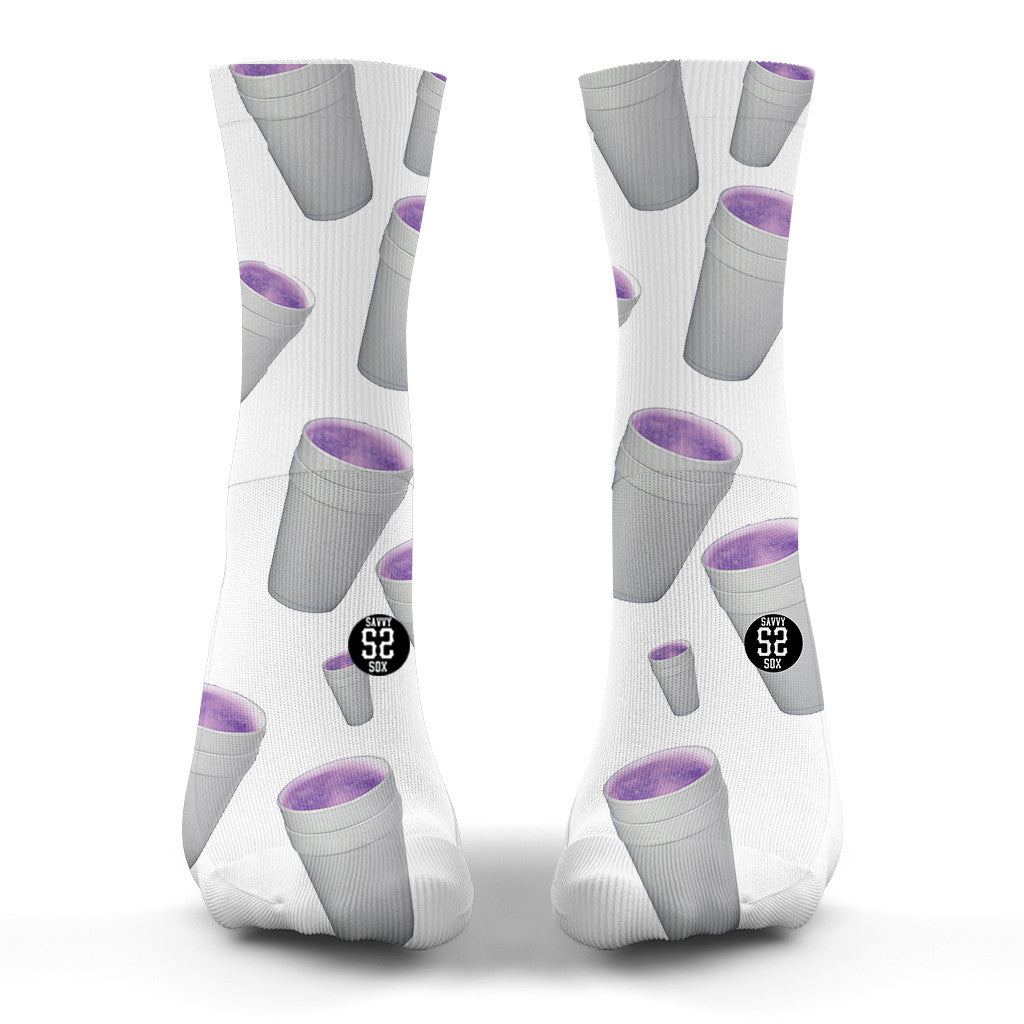 Savvy Lean (White) Socks