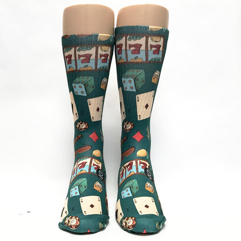 Casino Vintage Game Socks