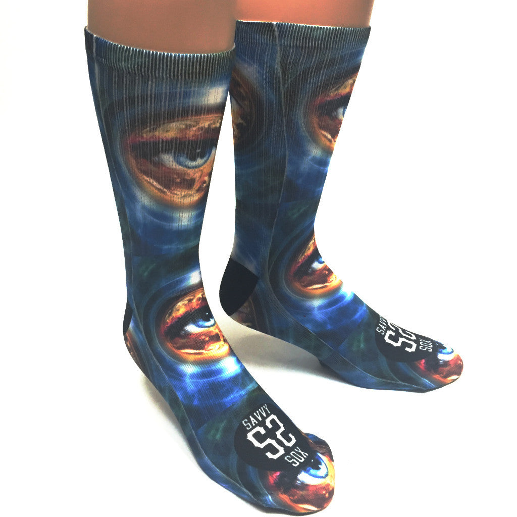 Eye of the World Socks - SavvySox - 3