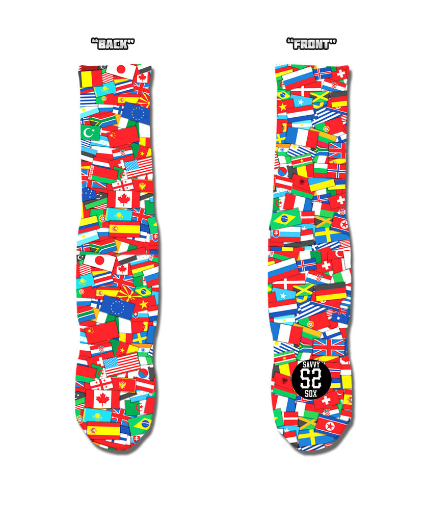 Flags Of All Nations - SavvySox - 2