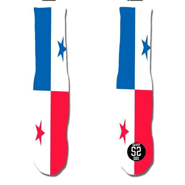 Panamanian Flag Socks - SavvySox