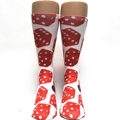 Pair of Dice Socks