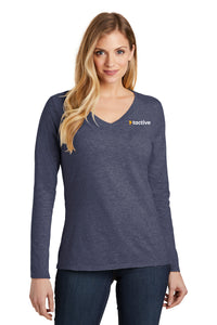 Tactive Very Important Tee ® Long Sleeve V-Neck