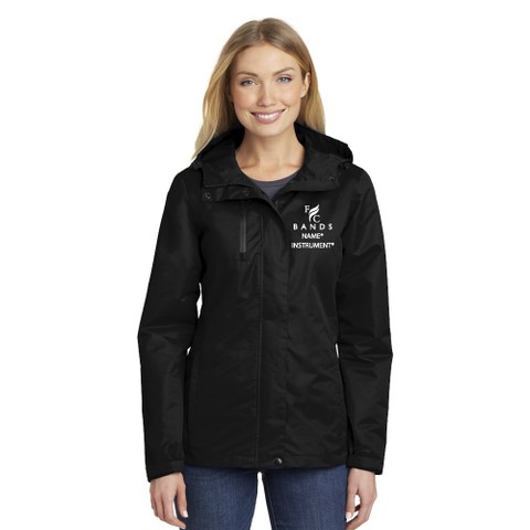 Custom Ladies Parent Jacket - Rain/Snow