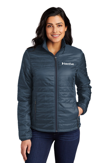 Tactive Ladies Packable Puffy Jacket