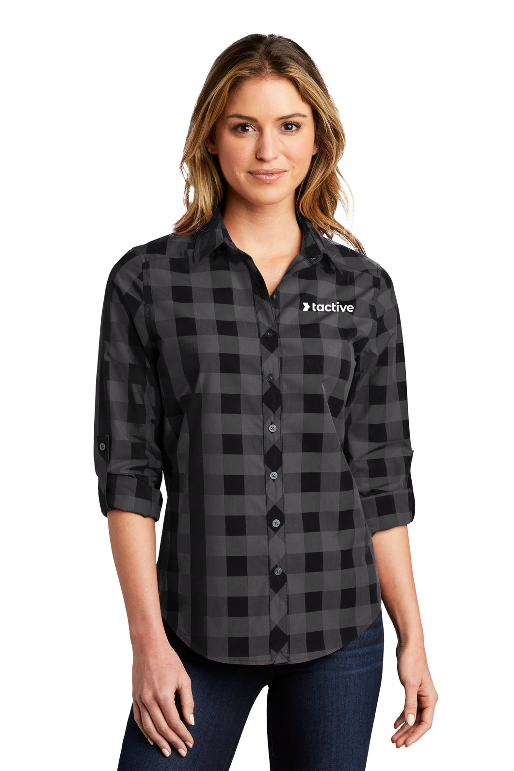 Tactive Ladies Everyday Plaid Shirt