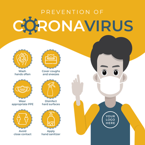 Coronavirus Office Signage Kit