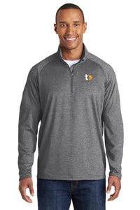 Tactive Tall Sport-Wick® Stretch 1/2-Zip Pullover