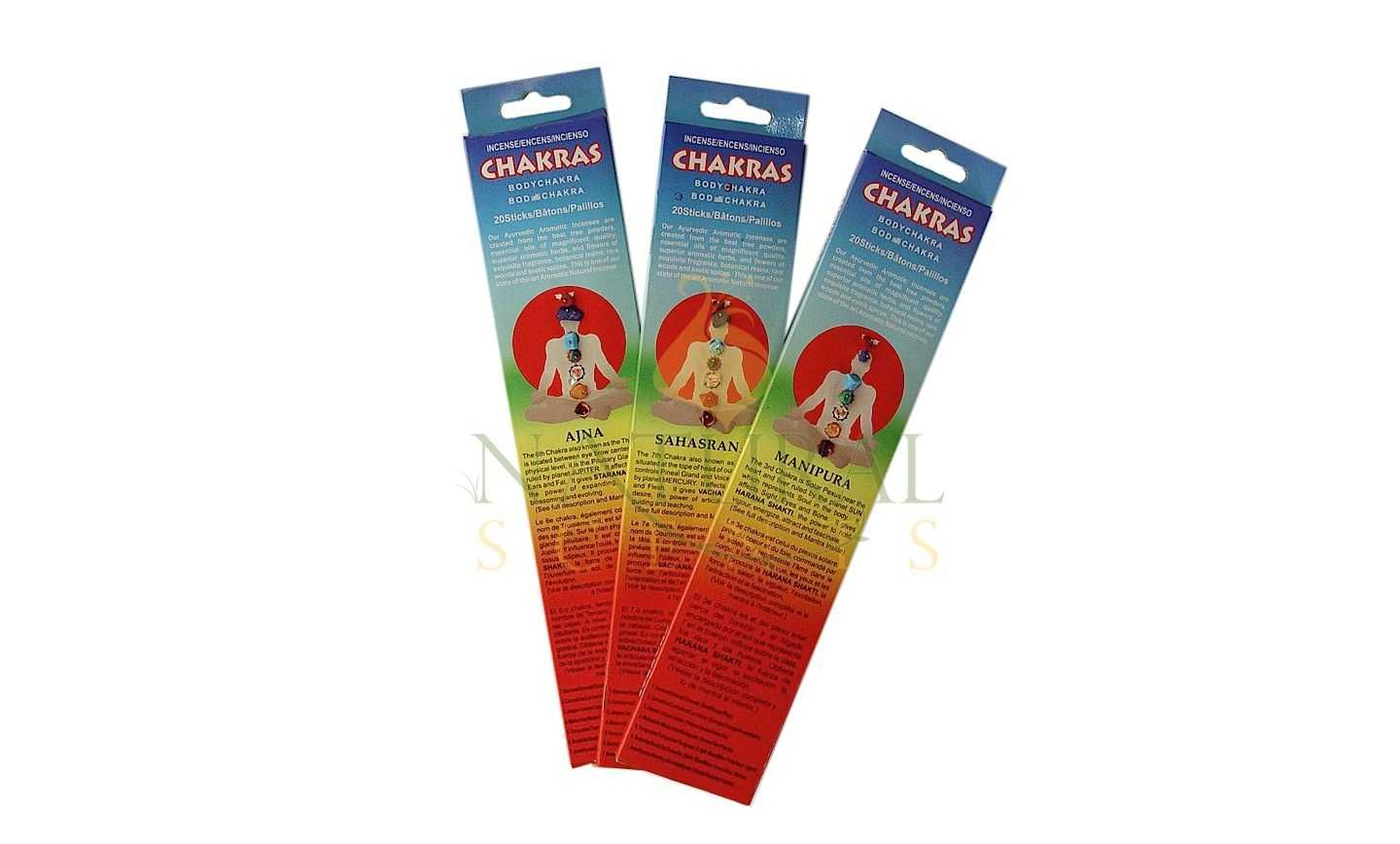 Chakras Incense Sticks