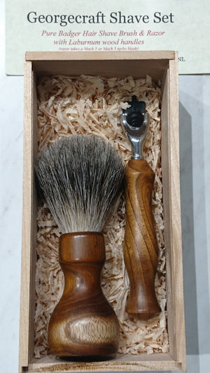 Handcrafted Shave Set & Razor
