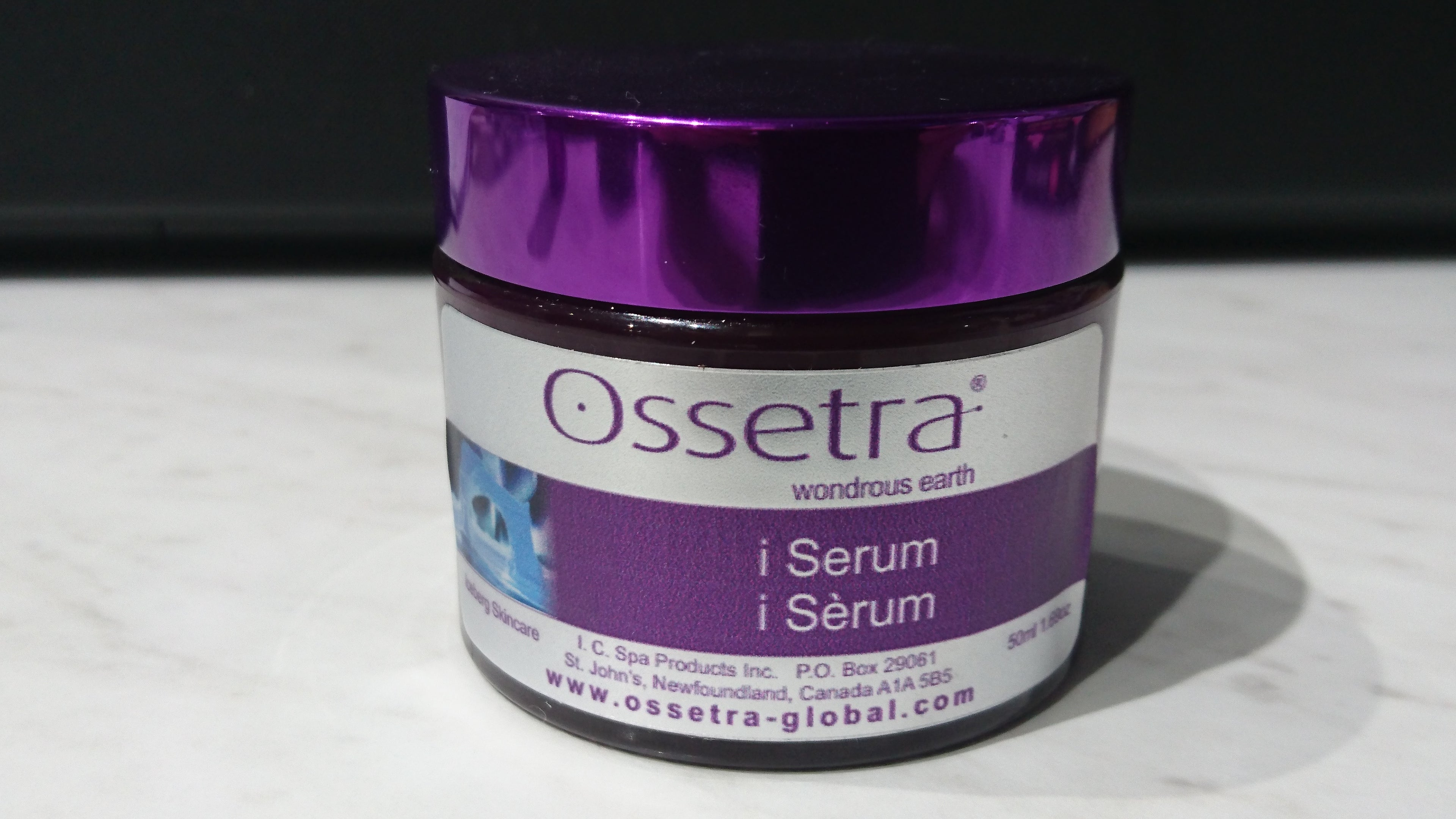 Ossetra Iceberg Water Facial Care